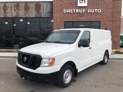 2014 Nissan NV Cargo for sale at Dastrup Auto in Lindon UT