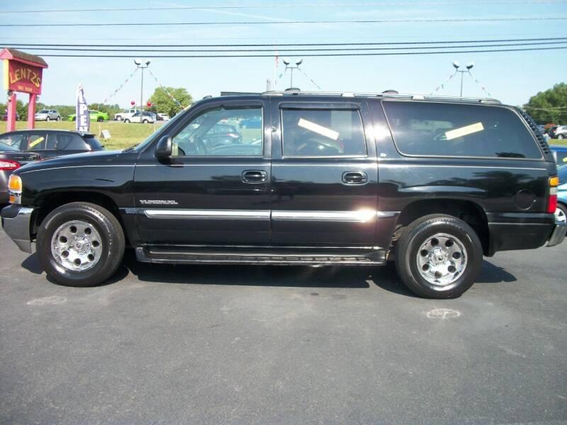 2004 GMC Yukon XL for sale at Lentz's Auto Sales in Albemarle NC
