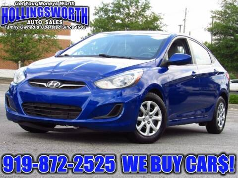 2014 Hyundai Accent for sale at Hollingsworth Auto Sales in Raleigh NC