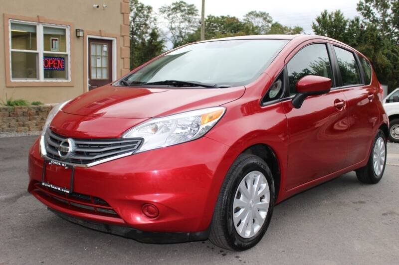 2015 Nissan Versa Note for sale at Euro 1 Wholesale in Fords NJ