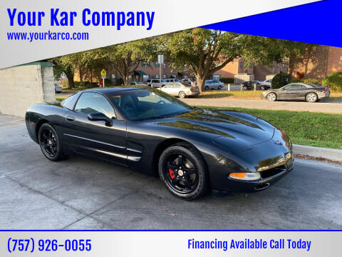 2004 Chevrolet Corvette for sale at Your Kar Company in Norfolk VA