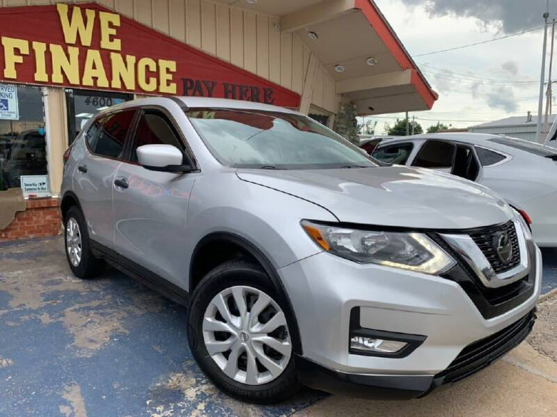 2018 Nissan Rogue for sale at Caspian Auto Sales in Oklahoma City OK