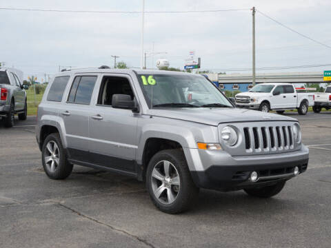 2016 Jeep Patriot for sale at FOWLERVILLE FORD in Fowlerville MI