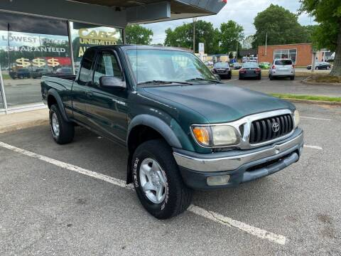 2002 Toyota Tacoma for sale at Carz Unlimited in Richmond VA