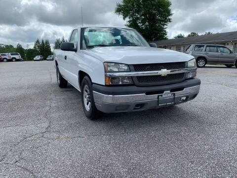 2006 Chevrolet Silverado 1500 for sale at Hillside Motors Inc. in Hickory NC