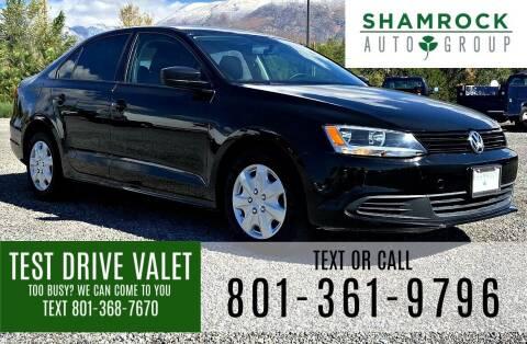 2013 Volkswagen Jetta for sale at Shamrock Group LLC #1 in Pleasant Grove UT