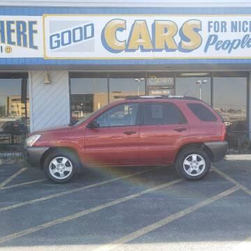 2008 Kia Sportage for sale at Good Cars 4 Nice People in Omaha NE