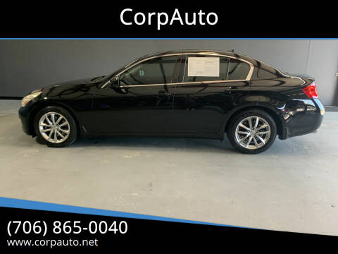 2008 Infiniti G35 for sale at CorpAuto in Cleveland GA