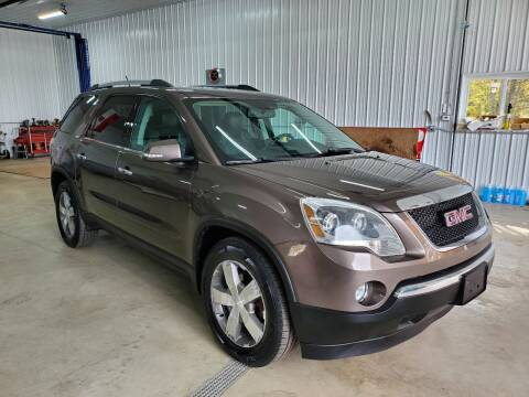 2010 GMC Acadia for sale at Motor House in Alden NY