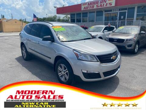 2017 Chevrolet Traverse for sale at Modern Auto Sales in Hollywood FL