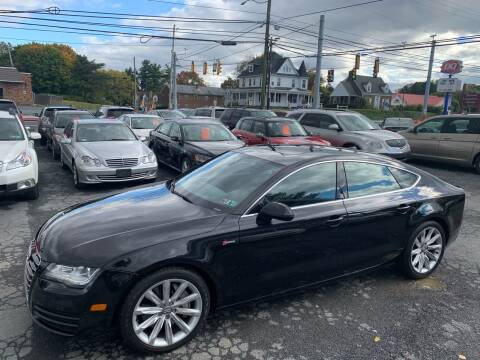 2012 Audi A7 for sale at Masic Motors, Inc. in Harrisburg PA