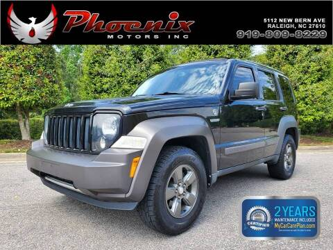 2011 Jeep Liberty for sale at Phoenix Motors Inc in Raleigh NC