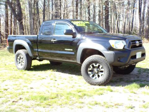 2015 Toyota Tacoma for sale at The Auto Barn in Berwick ME