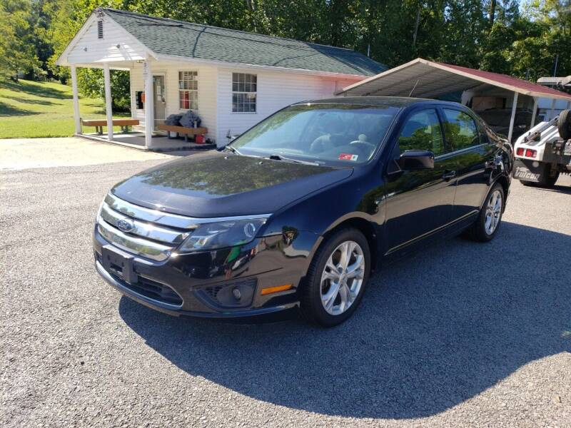 2012 Ford Fusion for sale at Ona Used Auto Sales in Ona WV