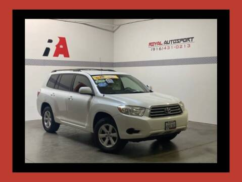 2009 Toyota Highlander for sale at Royal AutoSport in Sacramento CA