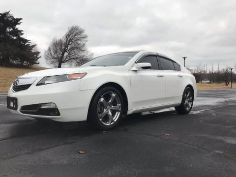 2012 Acura TL for sale at Sky Motors in Kansas City MO
