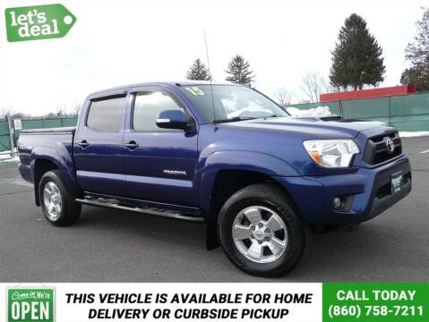 2015 Toyota Tacoma for sale at Shamrock Motors in East Windsor CT