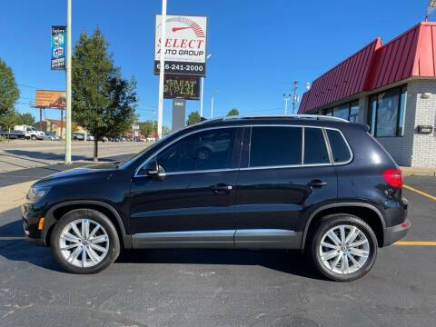 2016 Volkswagen Tiguan for sale at Select Auto Group in Wyoming MI