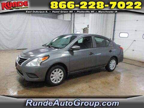2018 Nissan Versa for sale at Runde Chevrolet in East Dubuque IL