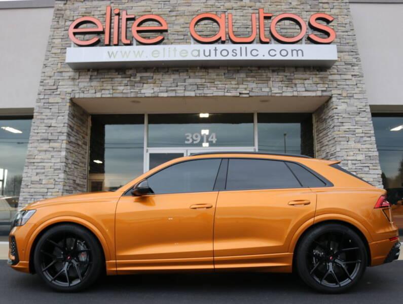 2021 Audi RS Q8 for sale at Elite Autos LLC in Jonesboro AR