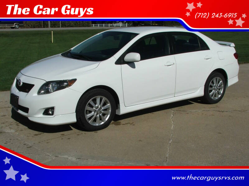 2010 Toyota Corolla for sale at The Car Guys in Atlantic IA