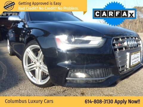 2013 Audi S4 for sale at Columbus Luxury Cars in Columbus OH