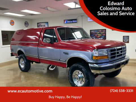 1997 Ford F-250 for sale at Edward Colosimo Auto Sales and Service in Evans City PA