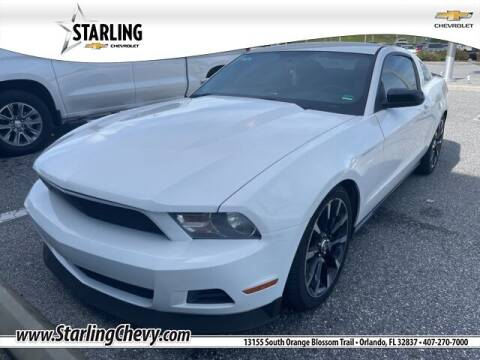 2012 Ford Mustang for sale at Pedro @ Starling Chevrolet in Orlando FL