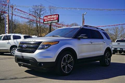 2013 Ford Explorer for sale at Dealswithwheels in Inver Grove Heights MN