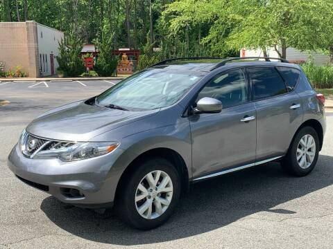 2013 Nissan Murano for sale at Triangle Motors Inc in Raleigh NC