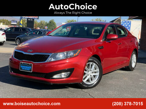 2012 Kia Optima for sale at AutoChoice in Boise ID