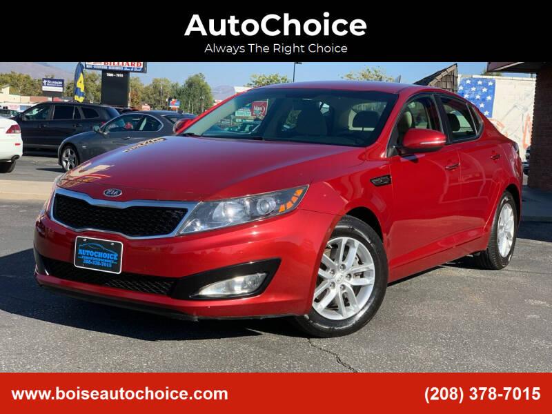 2012 Kia Optima for sale at AutoChoice in Boise ID