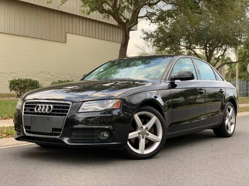 2010 Audi A4 for sale at Presidents Cars LLC in Orlando FL