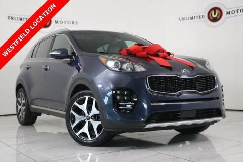 2017 Kia Sportage for sale at INDY'S UNLIMITED MOTORS - UNLIMITED MOTORS in Westfield IN