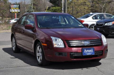 2007 Ford Fusion for sale at Amati Auto Group in Hooksett NH