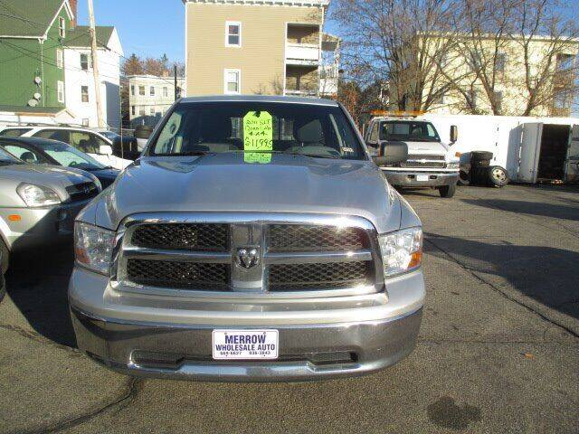 2011 RAM Ram Pickup 1500 for sale at MERROW WHOLESALE AUTO in Manchester NH