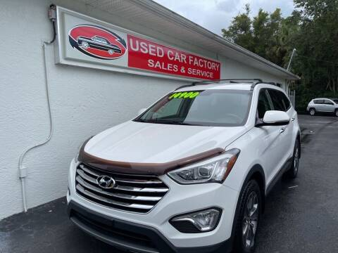 2013 Hyundai Santa Fe for sale at Used Car Factory Sales & Service in Port Charlotte FL