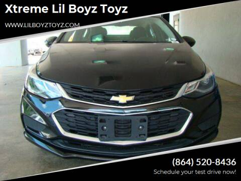 2017 Chevrolet Cruze for sale at Xtreme Lil Boyz Toyz in Greenville SC