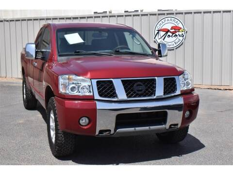 2004 Nissan Titan for sale at Chaparral Motors in Lubbock TX
