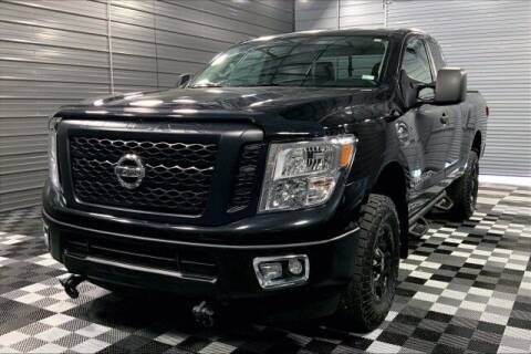 2017 Nissan Titan XD for sale at TRUST AUTO in Sykesville MD