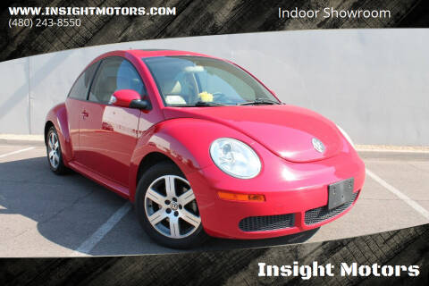 2006 Volkswagen New Beetle for sale at Insight Motors in Tempe AZ