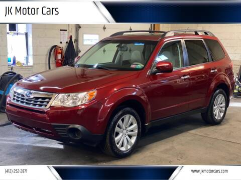 2011 Subaru Forester for sale at JK Motor Cars in Pittsburgh PA