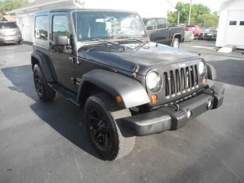 2010 Jeep Wrangler for sale at Morelock Motors INC in Maryville TN