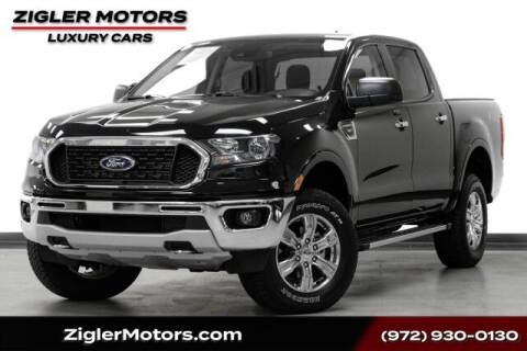 2020 Ford Ranger for sale at Zigler Motors in Addison TX