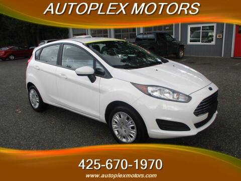 2016 Ford Fiesta for sale at Autoplex Motors in Lynnwood WA