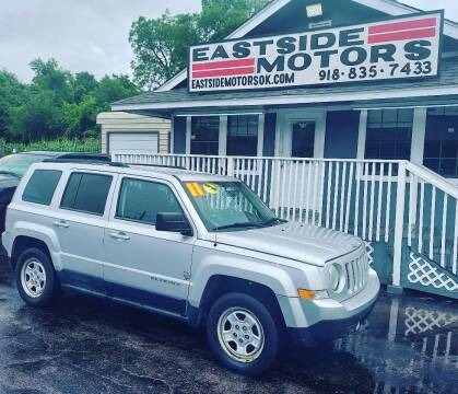2011 Jeep Patriot for sale at EASTSIDE MOTORS in Tulsa OK