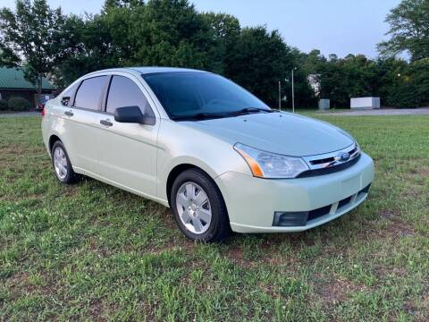 2010 Ford Focus for sale at A & A AUTOLAND in Woodstock GA