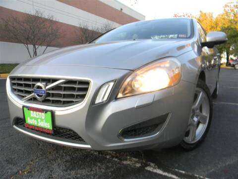 2013 Volvo S60 for sale at Dasto Auto Sales in Manassas VA