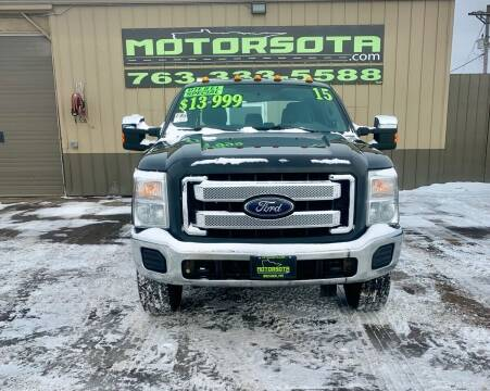 2015 Ford F-250 Super Duty for sale at Motorsota in Becker MN
