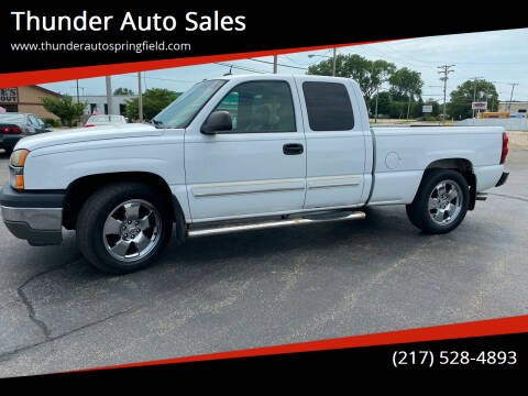 2005 Chevrolet Silverado 1500 for sale at Thunder Auto Sales in Springfield IL